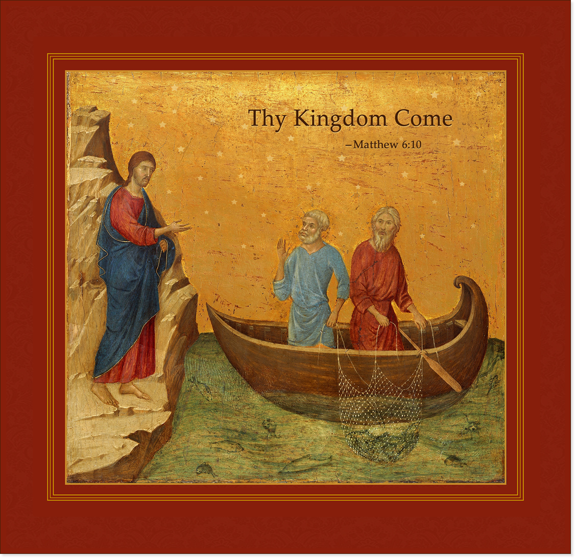 Christ with Fishermen -' Thy Kingdom Come'