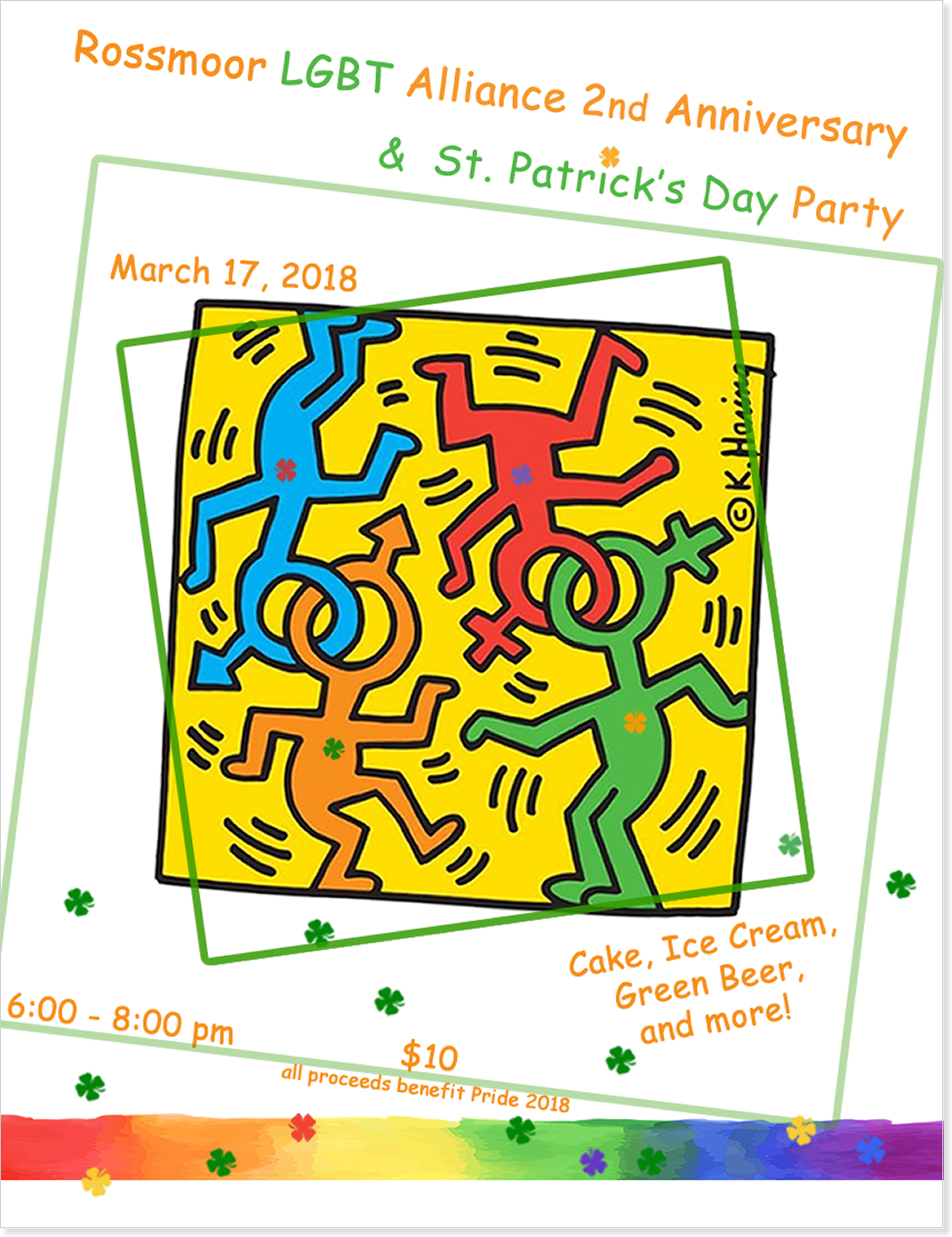 Alliance Nniversary St Patrickk's Day Party 2018